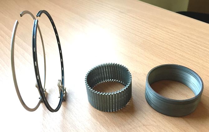 原祥研發成果-壓縮環、油環、襯環以及刮油片