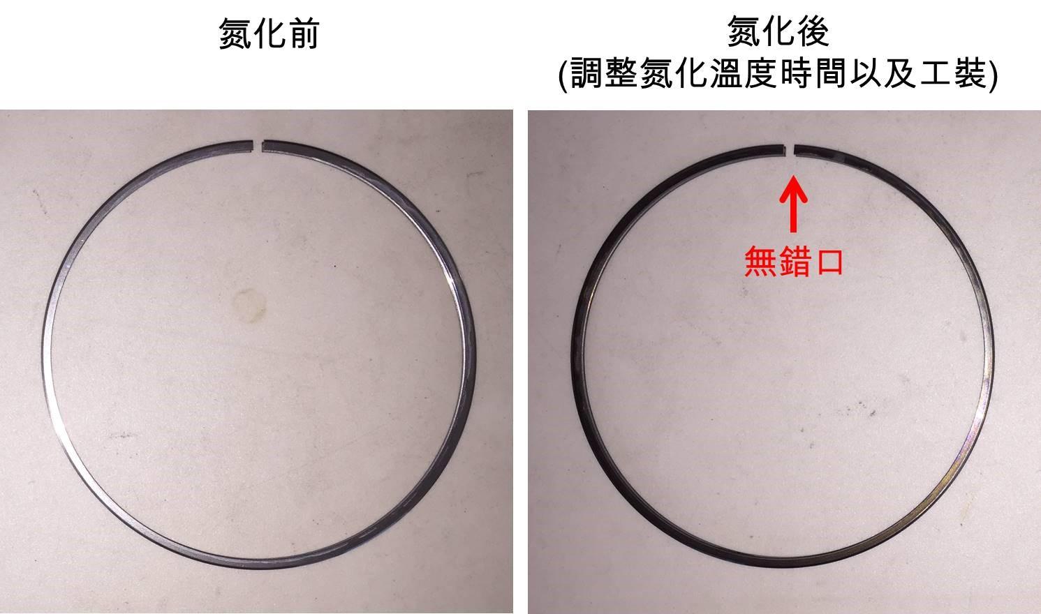 離子氮化處理變形量